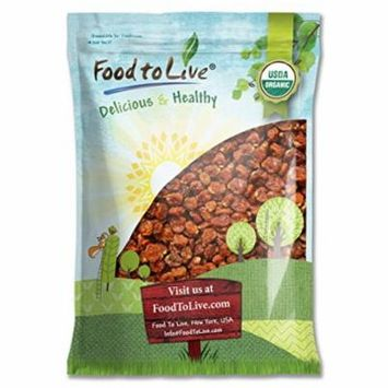 Food To Live ® Certified Organic Dried Golden Berries (Non-GMO, Bulk) (16 Pounds)