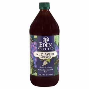 Eden Foods Selected Red Wine Vinegar -- 32 fl oz pack of 2