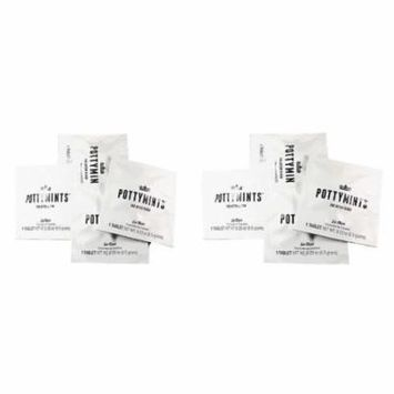 PottyMints Le Fleur Travel Bathroom Toilet Odor Eliminator Air Freshener Tablets 8 Pack White Fragrance
