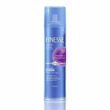 3 Pack - Finesse Extra Hold Unscented Aerosol Hairspray 7 oz Each