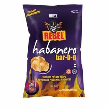 Extra Hot Habanero Bbq Style Potato Chips from Aubrey D. Rebel - Handcrafted with Fiery Perfection from the Kettles to the Bags. Fire It up Just Right