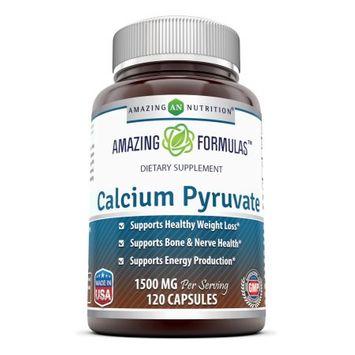Amazing Nutrition Calcium Pyruvate, 1500 Mg, 120 Capsules