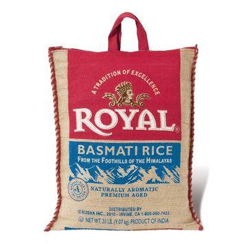 Royal White Basmati Rice, 20 Pound (3 Pack)