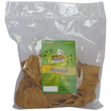 Mr Bites 1-Pound Rawhide Chips for Dogs, Chicken Flavor