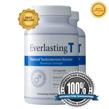 Everlasting T (2 Pack) - Testosterone Booster - Natural Testosterone Supplement - Proven Ingredients to Increase Testosterone Levels