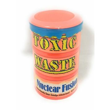 Toxic Waste Nuclear Fusion Sour Candy in 1.4 Ounce Drum