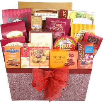 Alder Creek Gift Baskets Savory Holiday Gift Basket