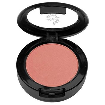 BaeBlu Swept Away Ultra Pigmented Baked Blush Compact, 100% Vegan, Gluten-Free and Made in USA with Natural and Organic Ingredients, Sweetheart