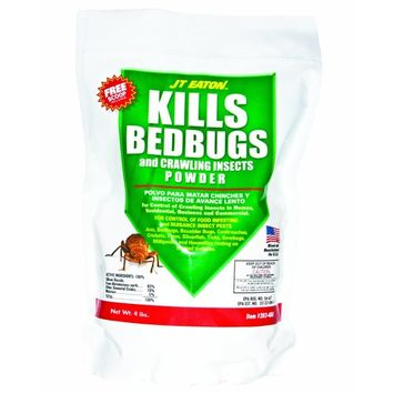 JT Eaton 203-4BG Kills Bedbugs and Crawling Insect Powder (Diatomaceous Earth), 4-Pound