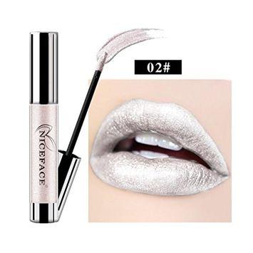 Kanzd New Lip Lingerie Pearly Liquid Lipstick Waterproof Lip Gloss Makeup 14 Shades Long Lasting Charming Lip