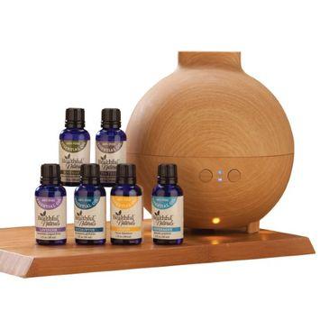 Easycomforts HealthfulTM Naturals Starter Kit & 600 ml Diffuser