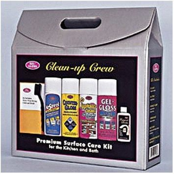 TR Industries GG-502 Gel-Gloss Clean-Up Crew Home Care Kit