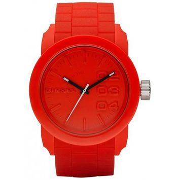 Diesel Men's DZ1440 Red Plastic Analog Quartz Fashion Watch