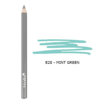 (3 Pack) Nabi Cosmetics Eye Pencil Mint Green