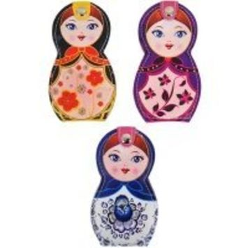 Russian Doll Box Nail Clipper Set Personal Manicure Pedicure Kit