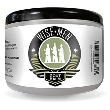Wise Men Therapeutic Gout Balm - Essential Oil Cream for Pain Relief Treatment