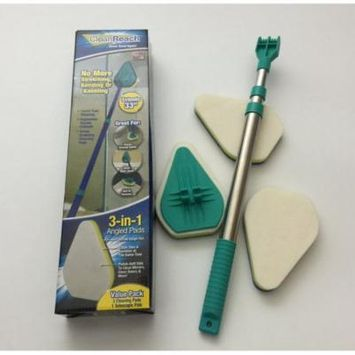 Clean Reach 360 degree 3 in 1 Mop - Good Grips Extendable Tub and Tile Scrubber