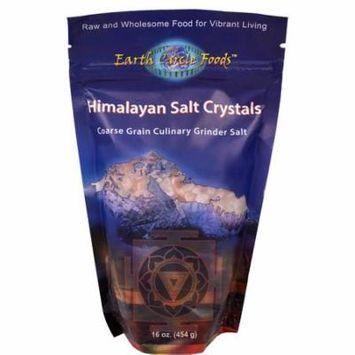Earth Circle Organics, Himalayan Salt Crystals, 16 oz (pack of 12)