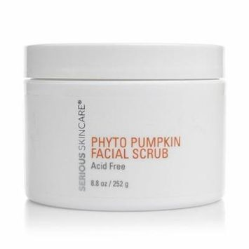 Serious Skincare Super Size Phyto Pumpkin Facial Scrub 8.8 oz., Acid-free, gel-like facial polisher By Serious Skin Care