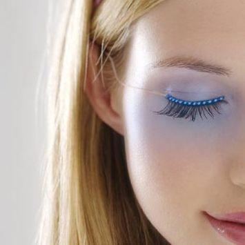 10 Pairs LED Lashes Fake Eyelashes Makeup Waterproof Holiday Party Pub Club Bar