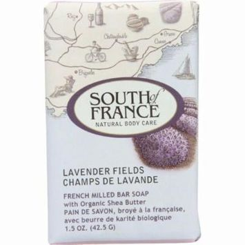 South Of France Bar Soap - Lavender Fields - Travel - 1.5 Oz - Pack of 12