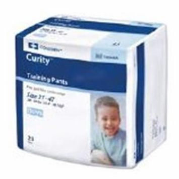 WP000-PT -70064BA 70064BA Curity Training Pants Boy Large 96/Ca Kendall Company
