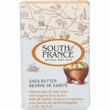 South Of France Bar Soap - Shea Butter - Travel - 1.5 Oz - Pack of 12