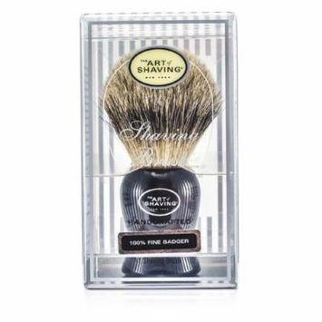 The Art Of Shaving - Fine Badger Shaving Brush - Black -1pc