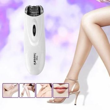 Mini Electric Pull Tweeze Device Women Hair Removal Epilator Facial Trimmer