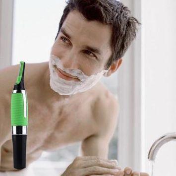 LESHP Handsome Men Body Nose Nasal Ears Eyebrow Facial Hair Clipper Trimmer Shaver