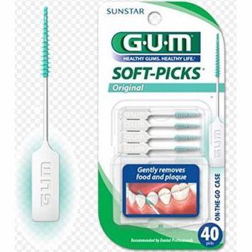 Gum Soft Picks (6 Packs of 40 each)