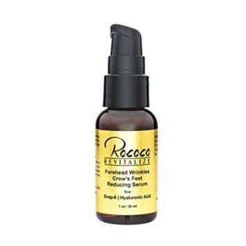 Forehead Wrinkles Crows Feet Reducing Serum with Snap-8 Hyaluronic Acid - 1oz