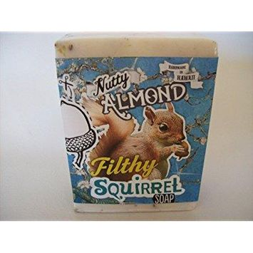 filthy squirrel all natural glycerin bar soap almond coconut by filthy farmgirl