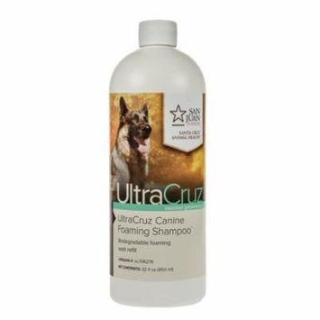 UltraCruz Canine Foaming Shampoo for Dogs, 32 oz refill