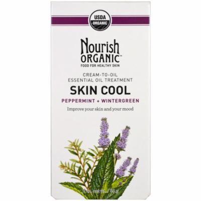 Nourish Organic, Skin Cool, Peppermint + Wintergreen, 2 oz(pack of 2)