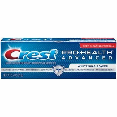 Crest Pro-Health Advanced Whitening Power Toothpaste 3.5 oz.(pack of 12)