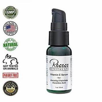 vitamin c serum with ascorbic acid and ascorbyl palmitate for skin minimizes age spots - 30ml 1oz