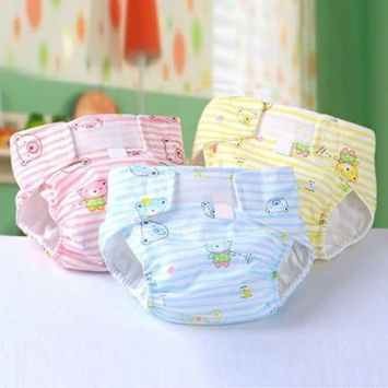Girl12Queen Infant Baby Waterproof Breathable Leak Proof Nappy Soft Durable Cloth Diaper