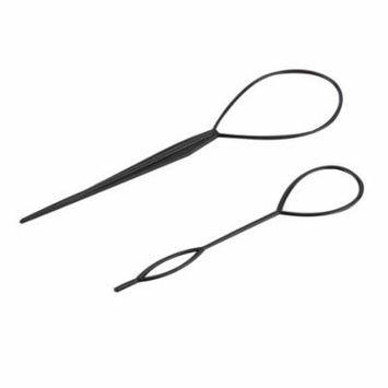 2017 New Ponytail Creator Plastic Loop Styling Tools Black Topsy Pony Tail Hair Braid