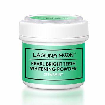 Lagunamoon Pearl Bright Teeth Whitening Powder,Natural Tooth & Gum Powder 1.76 Oz