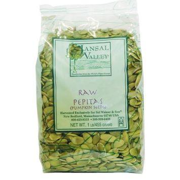 Jansal Valley Raw Pepitas Pumpkin Seeds, 1 Pound