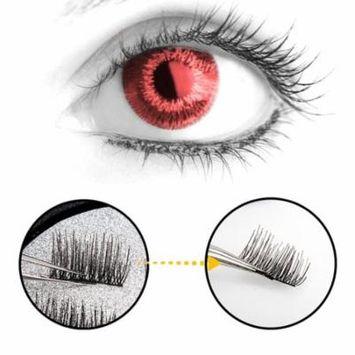 3D Magnetic Eyelash Glue Free Eyelashes 4 Pieces Recycle DIY False Eyelashes Fake Eyelashes