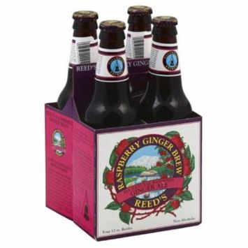 Reeds Raspberry Ginger Brew, 48 Fo (Pack of 6)