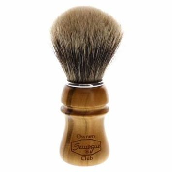 Semogue Owners Club Super Badger Shaving Brush, Cherry Handle