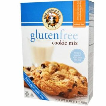 King Arthur Flour, Gluten-Free Cookie Mix, 16 oz (pack of 4)