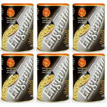 (6 PACK) - Marigold - Engevita Yeast Flakes | 125g | 6 PACK BUNDLE