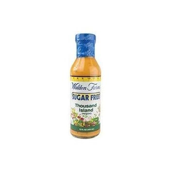 Honey Dijon Dressing, 12 fl oz (355 ml) by Walden Farms