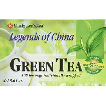 Uncle Lee's Legends of China Green Tea - 100 Tea Bags by Uncle Lee's