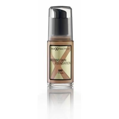 Max Factor Second Skin Foundation Foundation, No. 080 Bronze, 1 Ounce by Max Factor