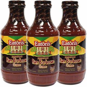 Eaton's Rum BBQ Sauce (Pack of 3)
